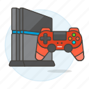 consoles, controller, game, playstation, ps4, video icon