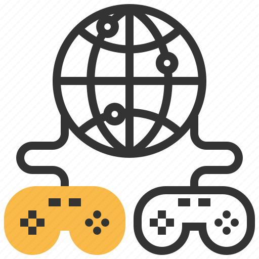 game, media, online, play icon
