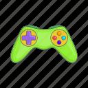 cartoon, design, game, gaming, joystick, video, wireless icon