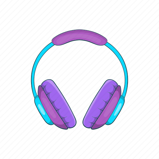 Cartoon, future, headphone, music, studio, technology icon - Download on Iconfinder
