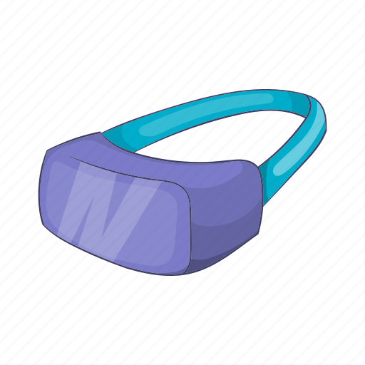Cartoon, future, glasses, headset, video, virtual, vr icon - Download on Iconfinder