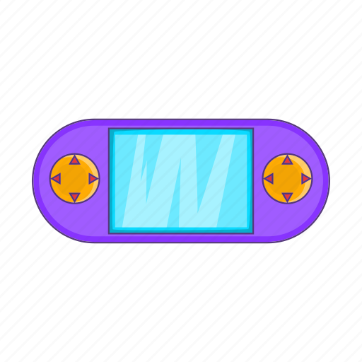 Cartoon, console, controller, game, pad, portable, video icon - Download on Iconfinder