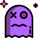 ghost, monster, game, retro, video icon