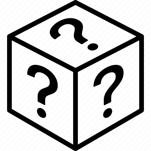 box, loot, lootbox, mystery, random, randomized icon