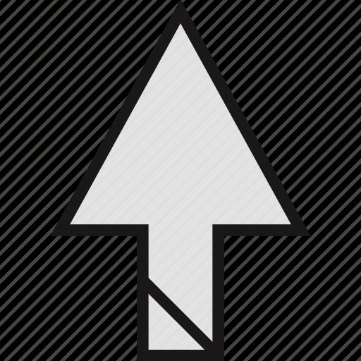 arrow, direction, point icon