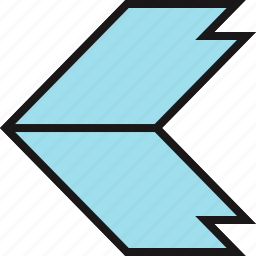 arrow, direction, exit, point icon
