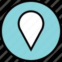 custom, locate, location icon
