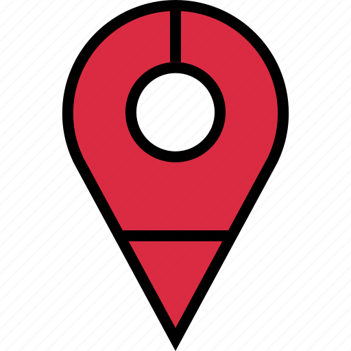locate, location, search icon