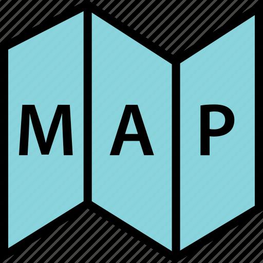 google, location, map, text icon
