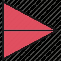 arrow, pointingi, right icon