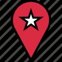 favorite, google, star icon