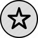 data, favorite, save, star icon