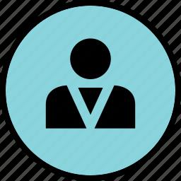 boss, person, profile, user icon