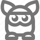 furby, game, gaming, play, robot, toy, video icon