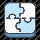 puzzle, jigsaw, piece, creative