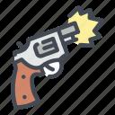 gun, pistol, weapon, shooting, shooter, revolver