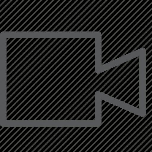 call, camera, communication, conversation, media, meeting, video icon
