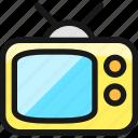 vintage, tv