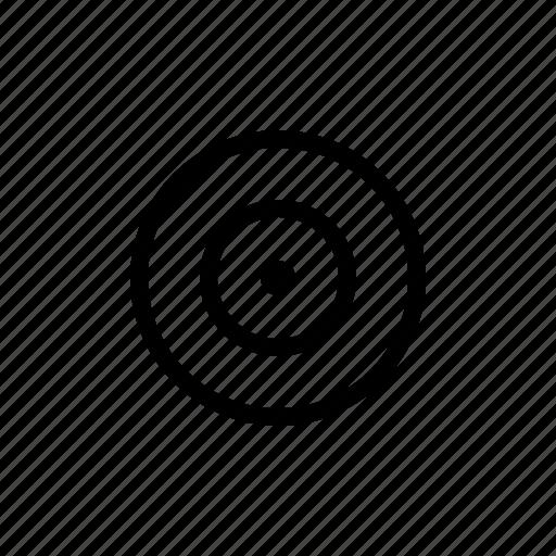 player, record, video icon