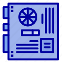 computer, main, mainboard, mother, motherboard icon