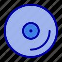 cd, disk, media, video icon