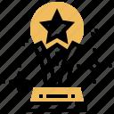 award, star, success, trophy, winner icon