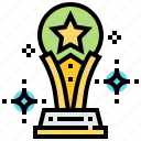 award, star, success, trophy, winner icon