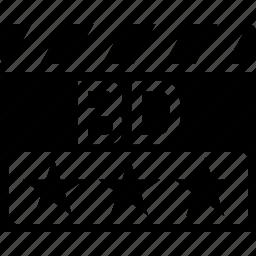 bd, blu ray, clapper, video format icon
