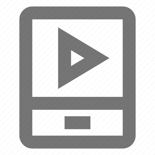 Play, media, phone, smartphone, telephone, film, settings icon - Download on Iconfinder