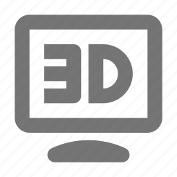 3d, 3d resolution, resolution icon