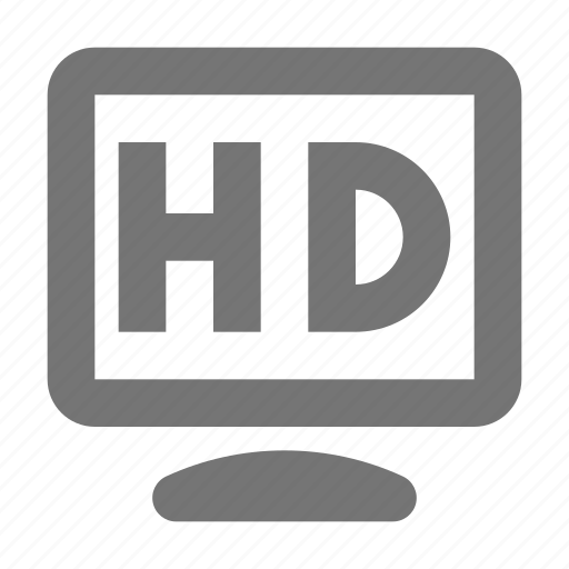 hd, hd resolution, resolution icon