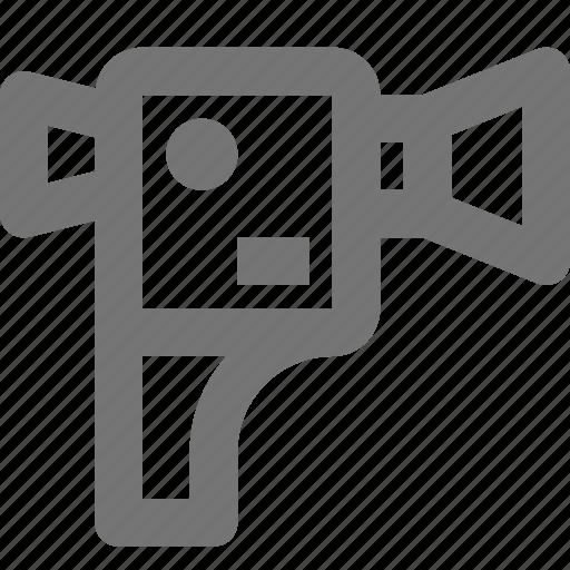 camera, film, gopro, movie, record, shoot, video icon