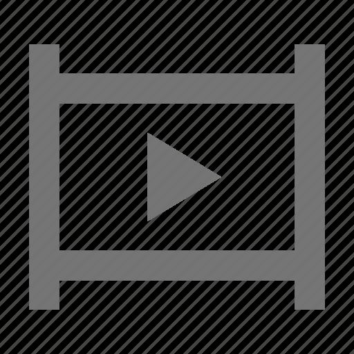 camera, controls, film, media, play, record, settings, shoot icon