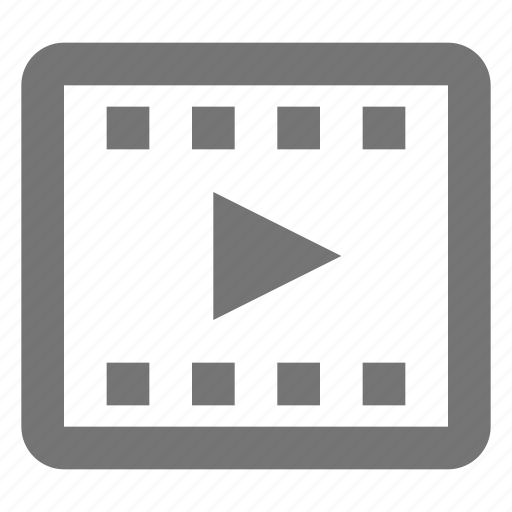 media, movie, play, video icon