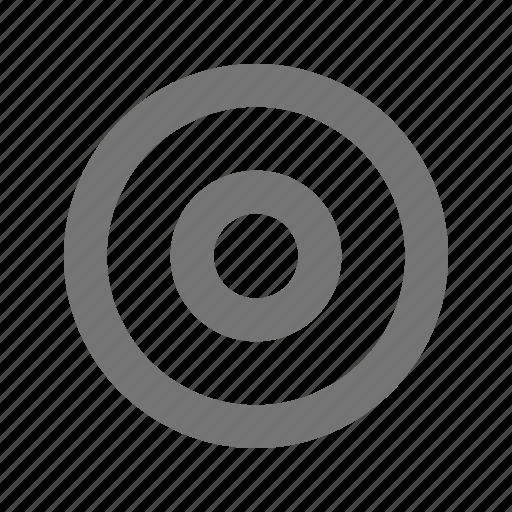 bullseye, record icon