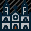 architecture, building, cathedral, landmark, saigon, st mary notre dame, vietnam icon