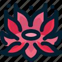 blossom, floral, flower, lotus, national, symbolic, vietnam icon