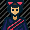 costume, ethnic, flower, hmong, people, tribe, vietnam icon