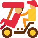 delivery, local, transport, transportation, vehicle, vehicles, vietnam icon