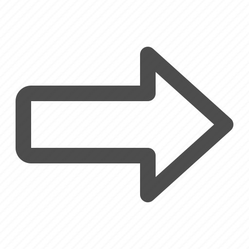 Arrow, direction, forward, next, right icon - Download on Iconfinder