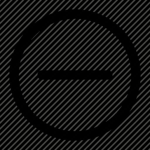 Decrease, minus, remove, delete icon - Download on Iconfinder