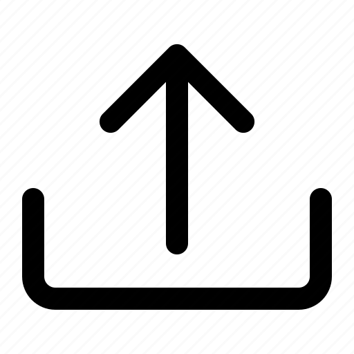 Send, transmit, upload, arrow, data icon - Download on Iconfinder