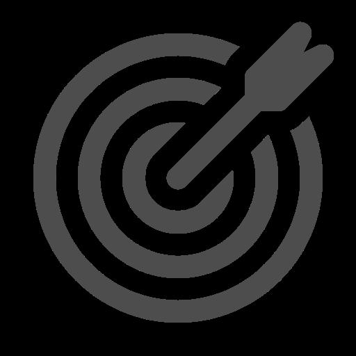 Bullseye, dart, goal, target icon - Free download