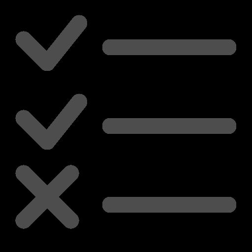 checklist, checkmark, done, list icon
