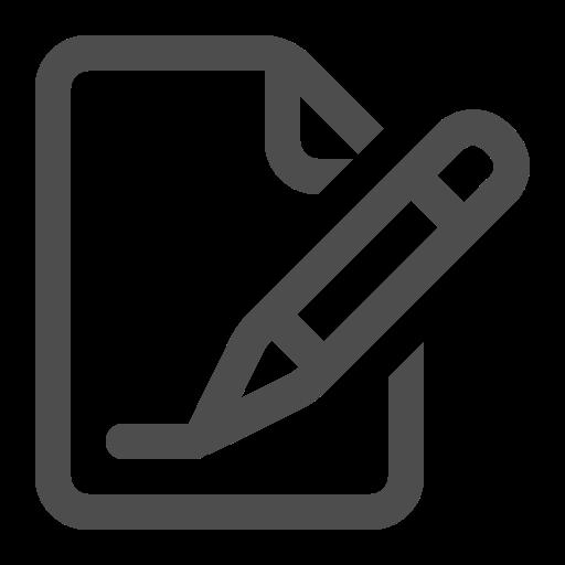 document, pen, sign, signature, write icon
