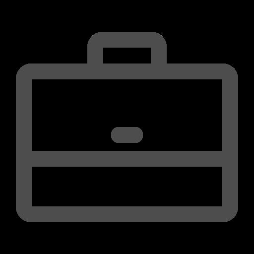 briefcase, job, suitcase, work icon
