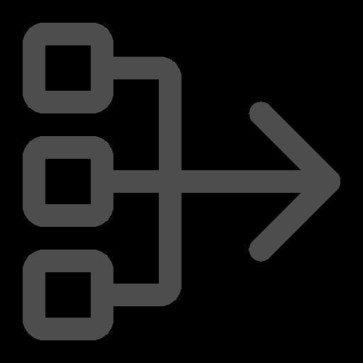 arrow, group, next step, summary icon