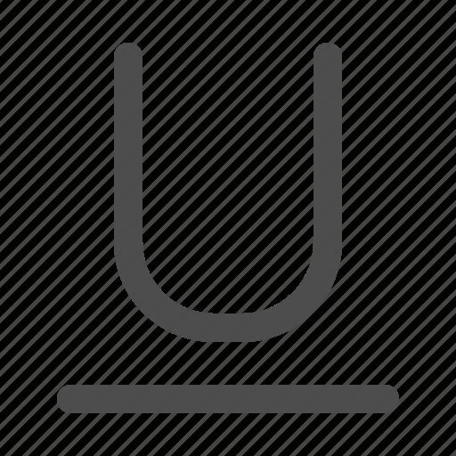 Font, format, text, underline icon - Download on Iconfinder