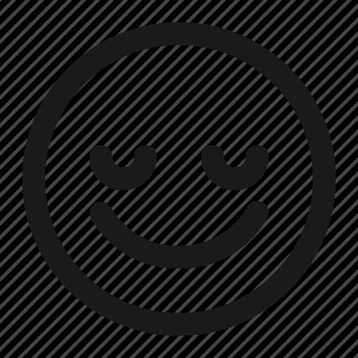 appreciate, emoji, happy, pleased, satisfied icon
