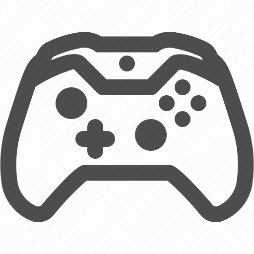 Controller Gaming Videogames Xbox One Icon